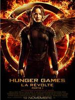 Hunger games révolte partie 1 - affiche