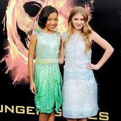 Amandla Stenberg et Willow Shields