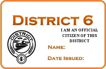 District 6 permit