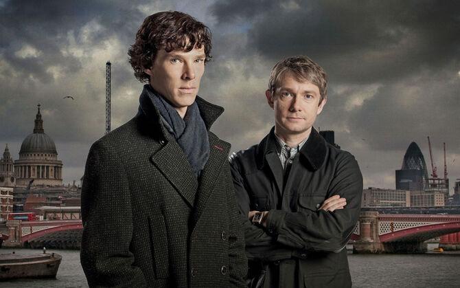 Sherlock-benedict-cumberbatch-martin-freeman