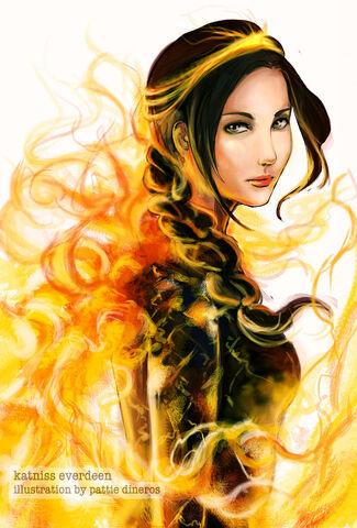 File:Katniss everdeen by patsie-d3gxeul.jpg