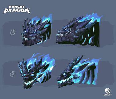 Dark dragon concept