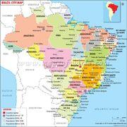 Brazil-cities-map