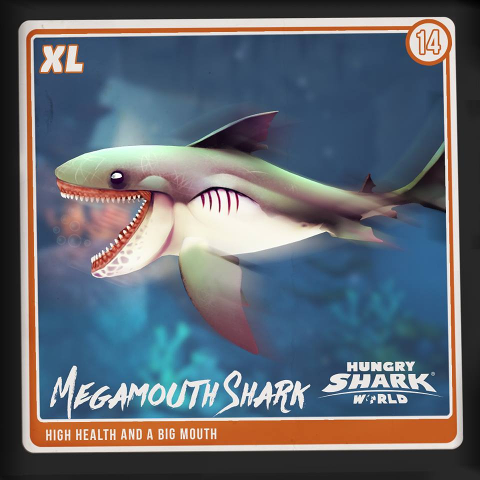 megamouth shark hungry shark wiki fandom powered by wikia