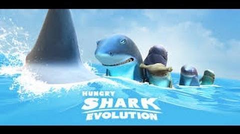 Hungry Shark Evolution Electro Shark GamePlay