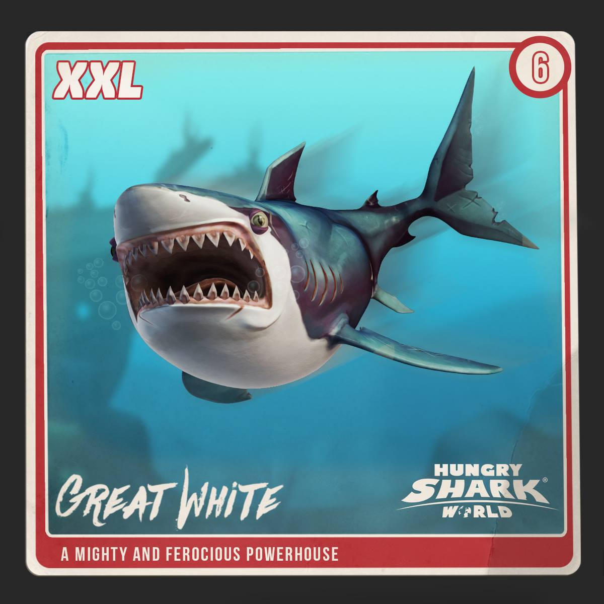 Great White Shark Enemies | Great White Shark World Hungry Shark Wiki Fandom Powered By Wikia