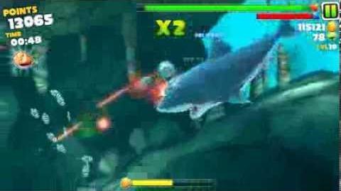 Hungry Shark Evolution - The Laser Beam