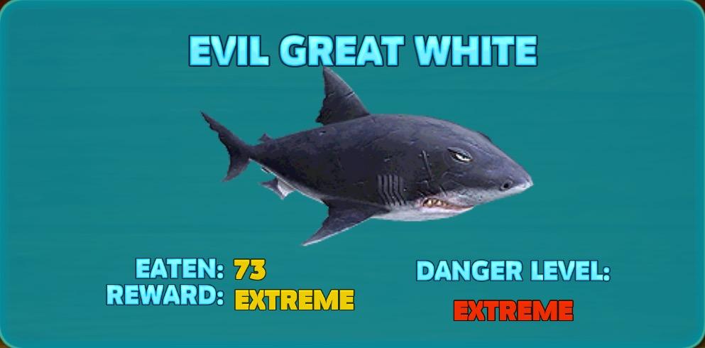 Great White Shark Enemies | Evil Great White Shark Hungry Shark Wiki Fandom Powered By Wikia