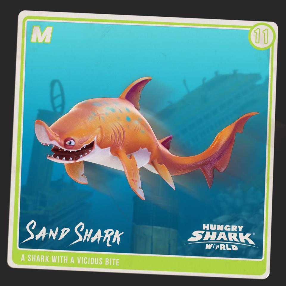 Sand Shark | Hungry Shark Wiki | FANDOM powered by Wikia