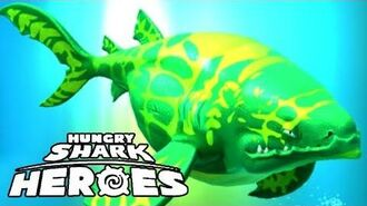FIRST 5-STAR SHARK EORHINCODON (HUNGRY SHARK HEROES)