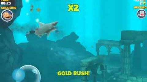 Reef Shark Getting Killed by Stingrays