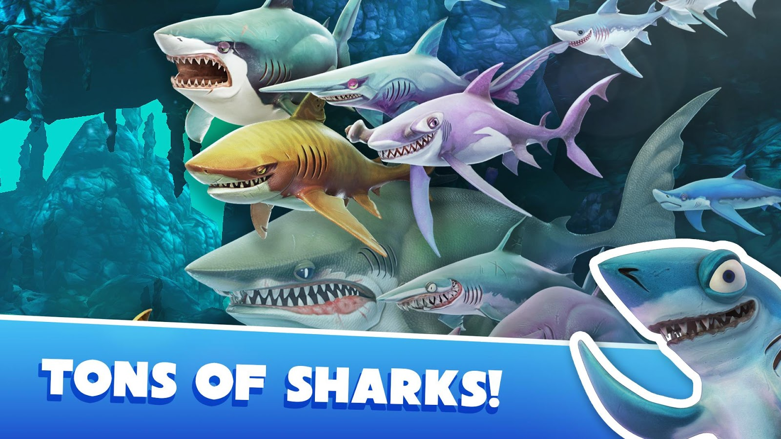 Download Hungry Shark Mod Apk-Get Unlimited[Money+Gems]