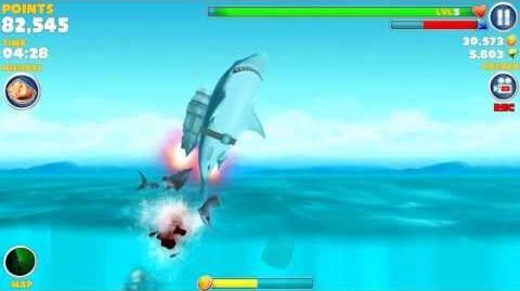 Hungry Shark Evolution - The Jetpack