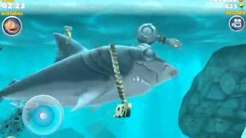 Hungry shark evolution new baby Megalodon