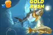 Megalodon attack a two golds evil megamouth sharks