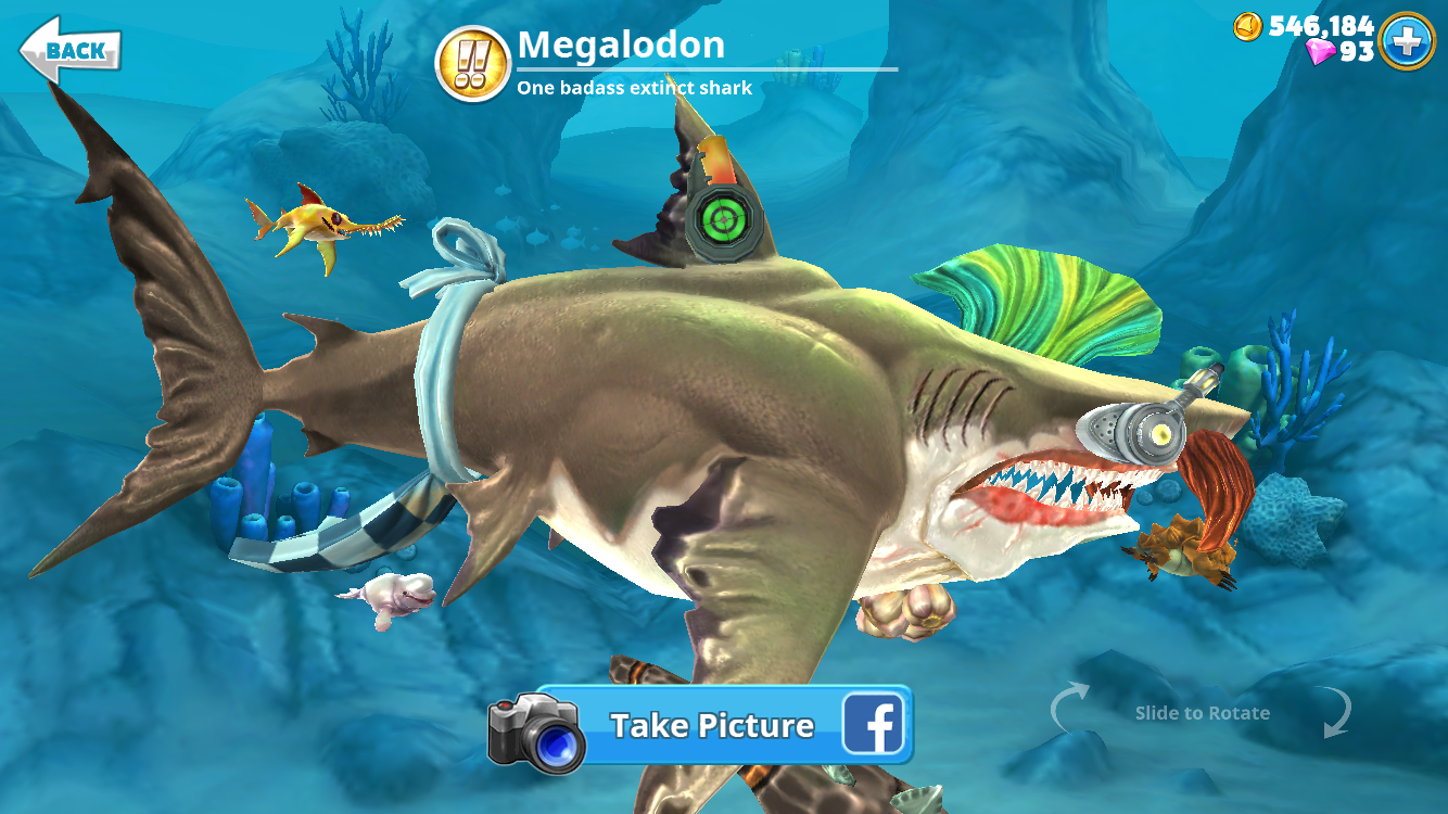 Image megalodon shark descriptiong hungry shark wiki megalodon shark descriptiong altavistaventures Images