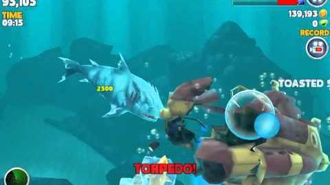 Hungry Shark Evolution Ice Shark is COOL