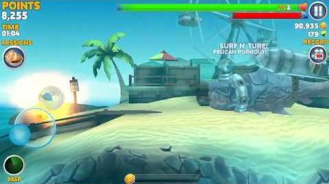 Hungry shark evolution - Halloween 2014 evil skull ball gameplay