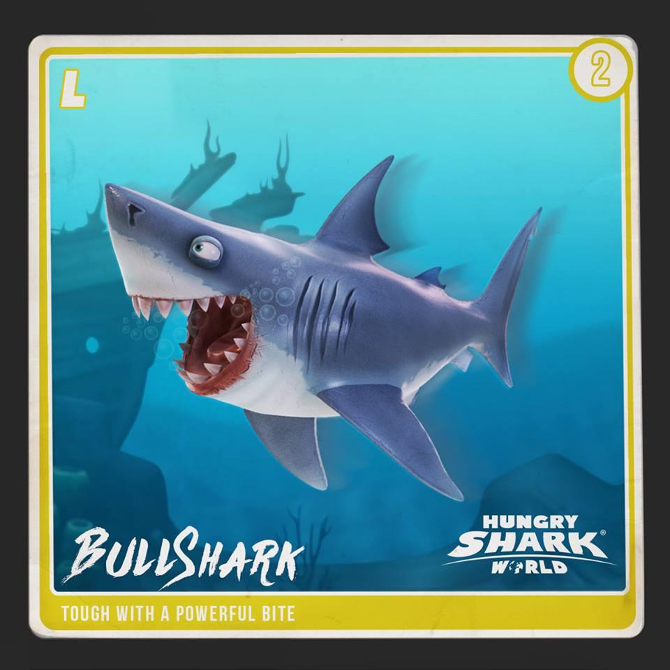 Bull Shark | Hungry Shark Wiki | FANDOM powered by Wikia