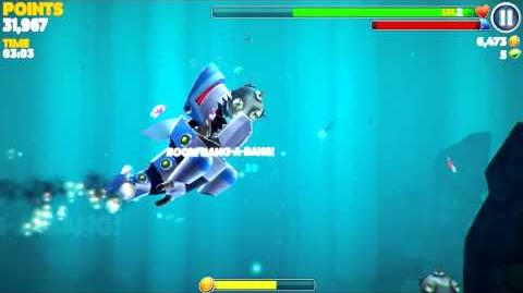 Hungry Shark Evolution - The Robo Shark (Google Play)