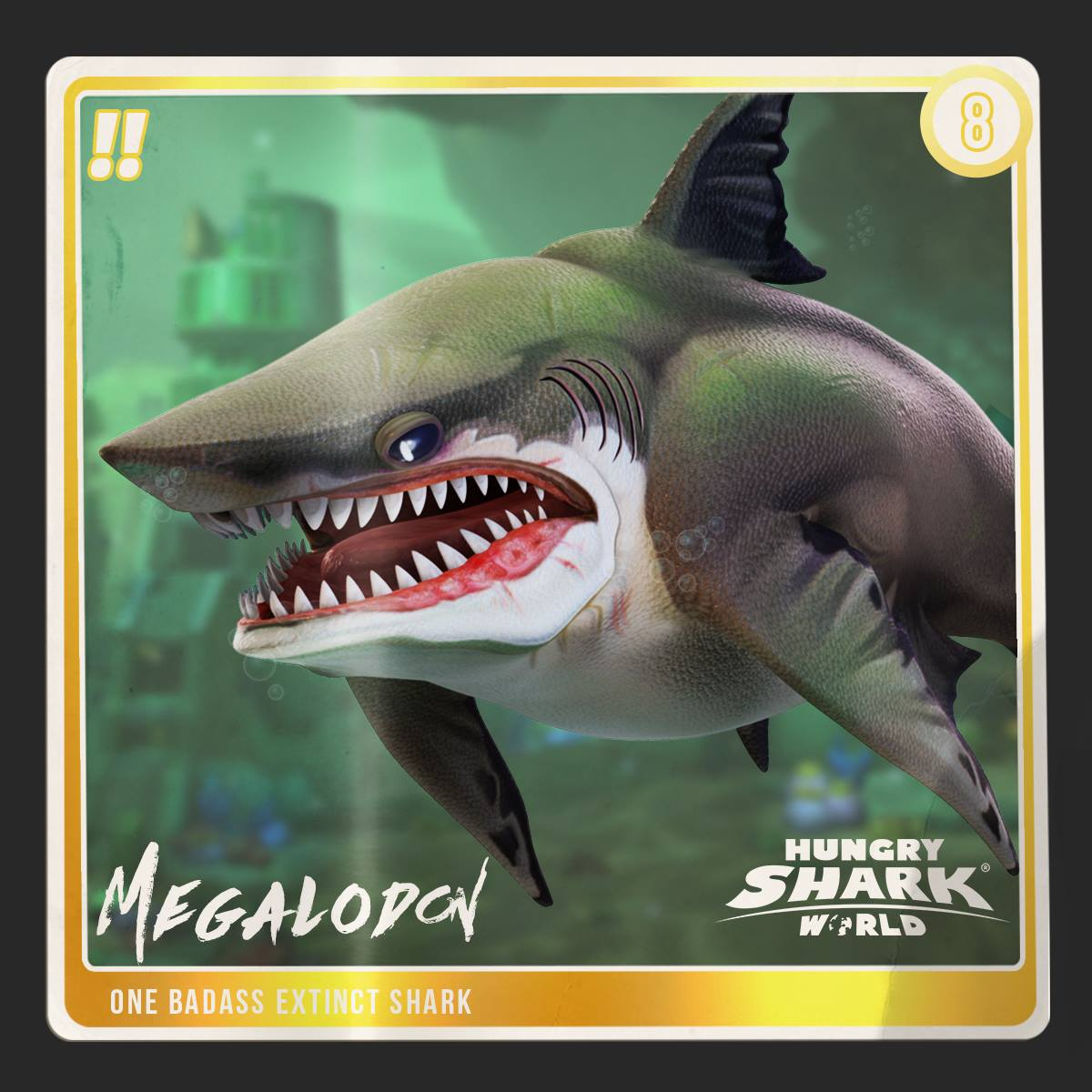 Megalodon world hungry shark wiki fandom powered by wikia megalodon one badass extinct shark altavistaventures Images