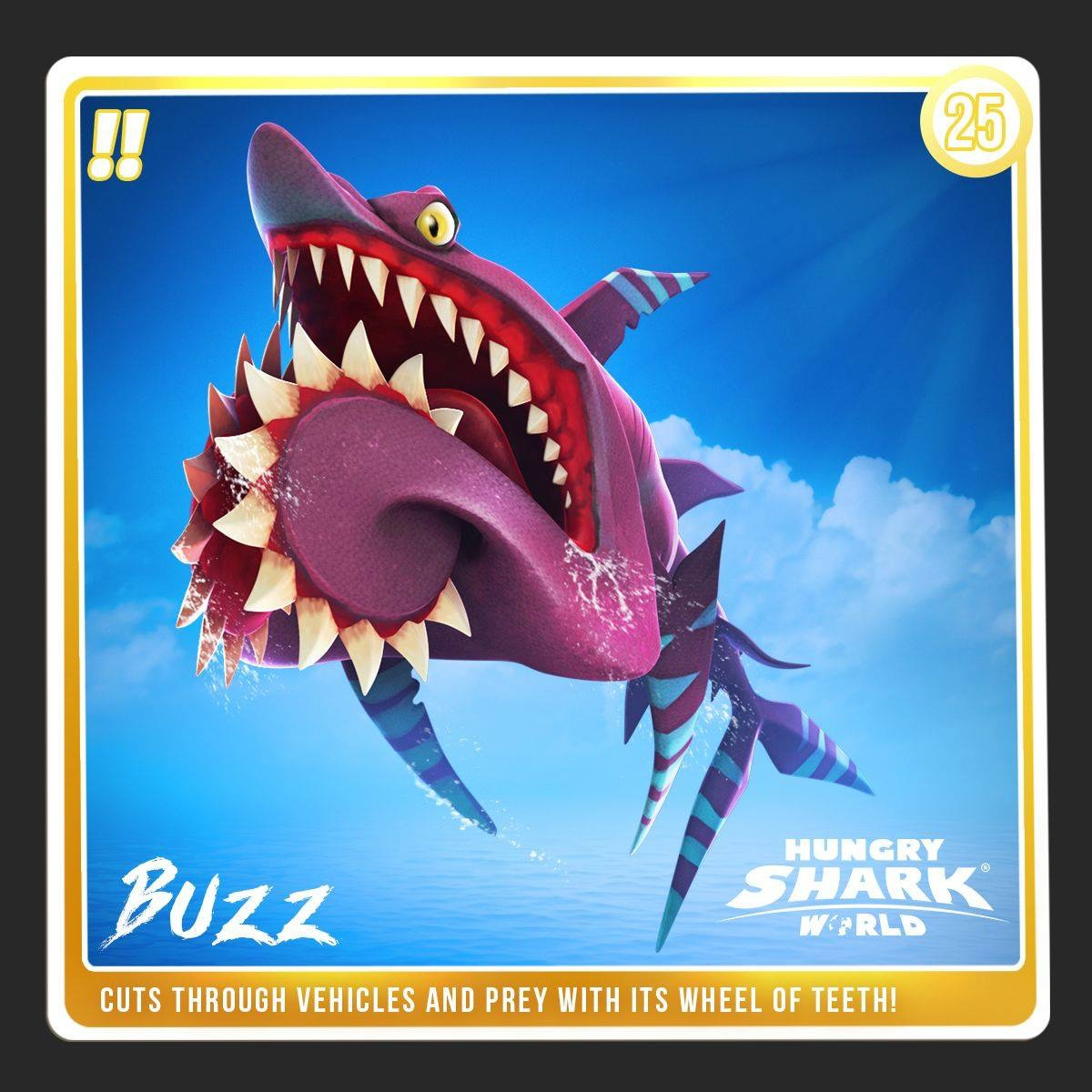 World Of Buzz: Buzz (Helicoprion)