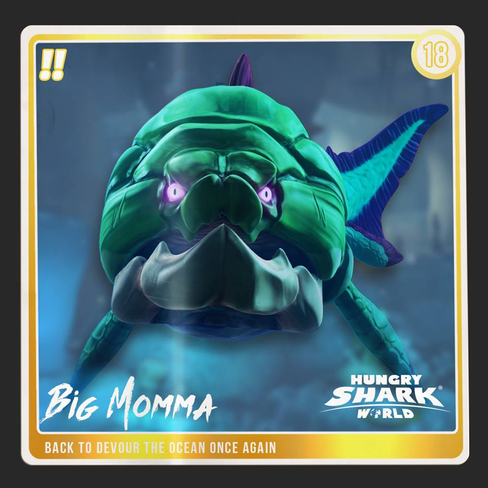 big momma dunkleosteus hungry shark wiki fandom