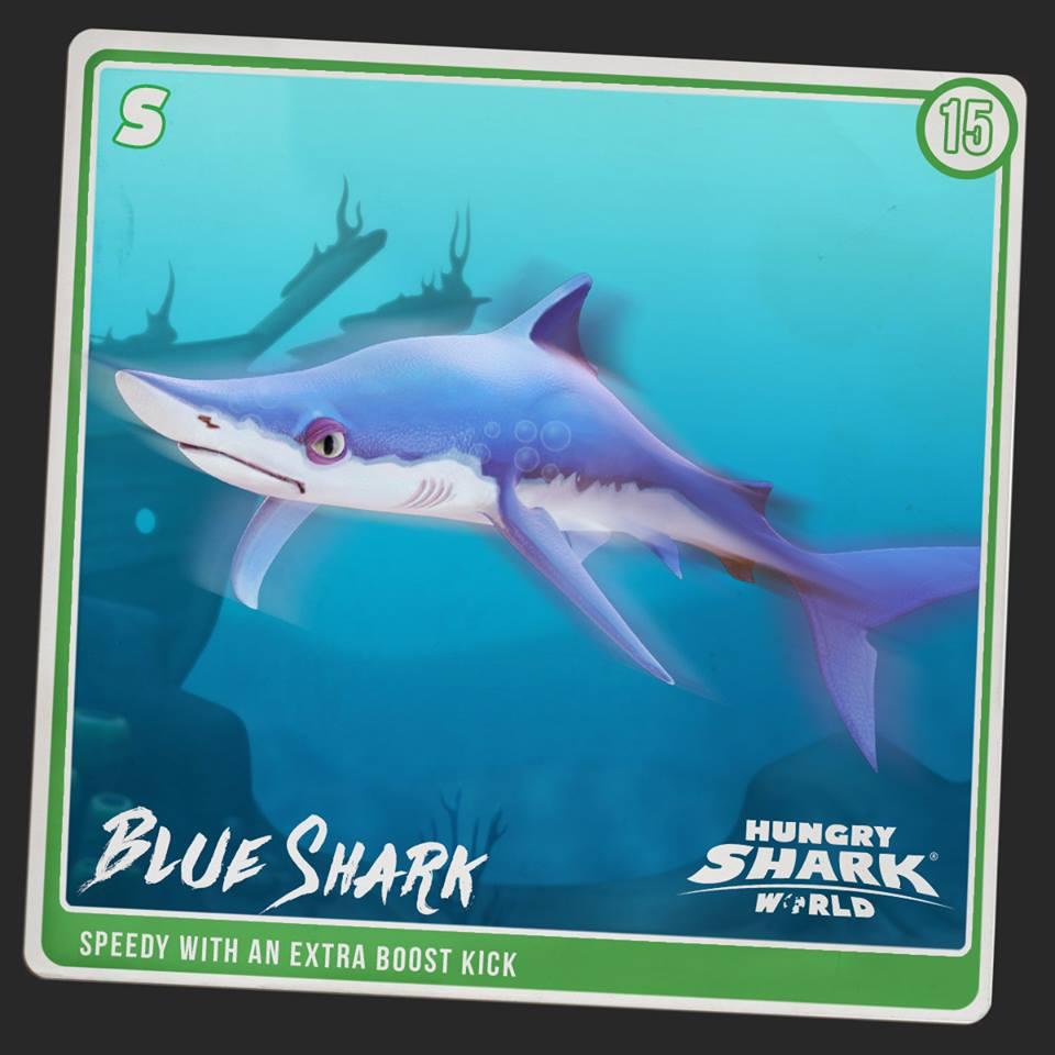 Blue Shark | Hungry Shark Wiki | FANDOM powered by Wikia