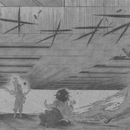 Haiji lifting a building
