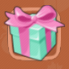 Shiny gift box