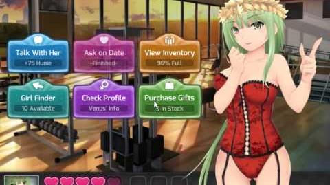 HuniePop 1.2.0 Hard Mode Day 17 - Beli, Venus, Nikki