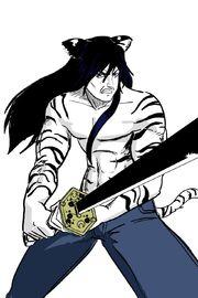 Kain the White Shadow by fukujinzuke