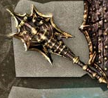 Weapon caddocs darkset axe