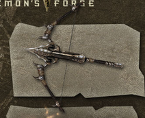 Weapon caddoc griffin maw crossbow