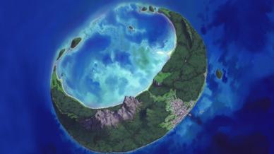 Crescent Moon Island