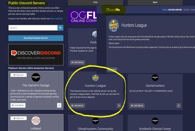 User blog:Euikeon/HL Discord Server Verified!!! | Hunters League