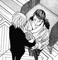 Chap 350 - Kurapika holds Woble