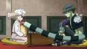 Meruem vs Komugi