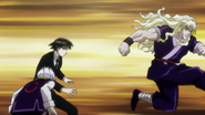 The Zoldycks versus Chrollo