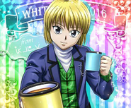 Kurapika - White Day Ver Kira Card