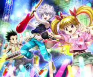 HxH Battle Collection Card (693)