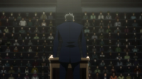 Leorio's speech