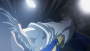 Kurapika punches Uvogin