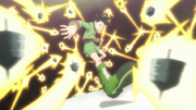 Gon surrounded by gido tops