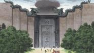 Puerta de entrada de los Zoldyck