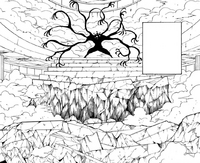 Chap 268 - Youpi guarding the top of the staircase