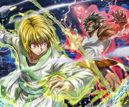 Kurapika vs Uvogin - LR Card