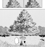 Chap 218 - Gon and Palm watching the Sea Fireflies