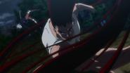 Gon attacks Pitou