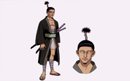 Nobunaga Hazama (Official Artwork)